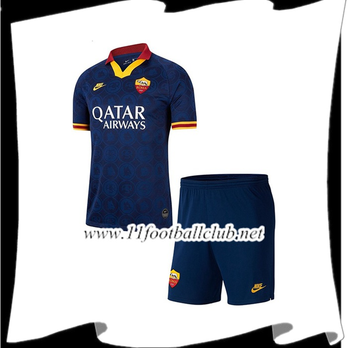 Le Nouveaux Maillot de Foot AS Roma Enfant Third 2019/2020 Authentic