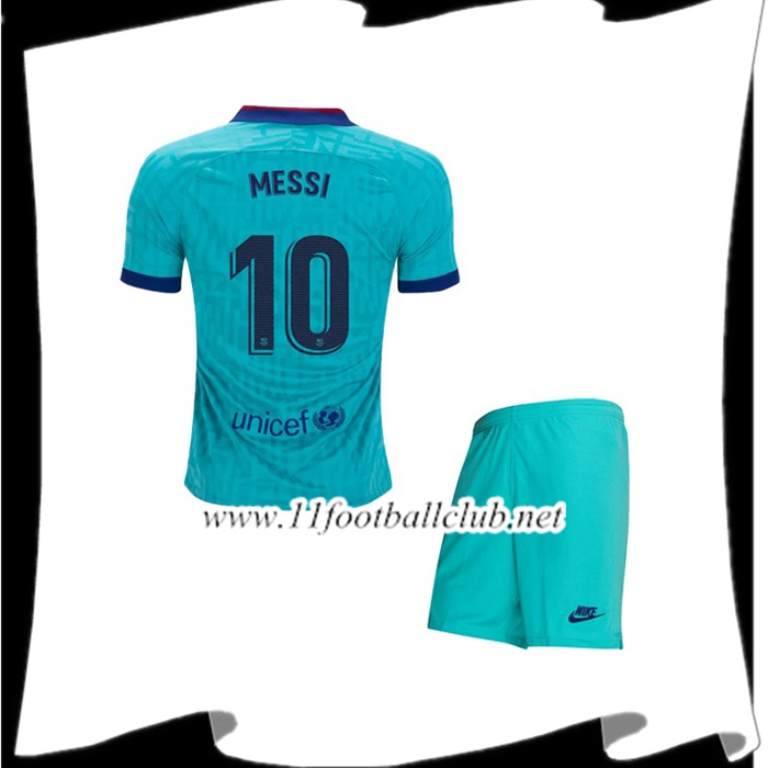Le Nouveau Maillot Barcelone (MESSI 10) Enfant Third 2019/2020 Officiel
