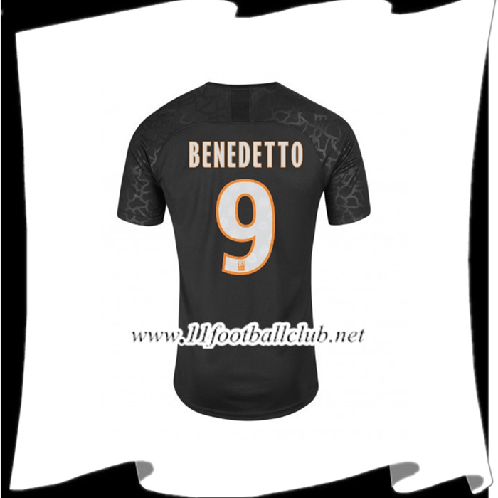 Le Nouveau Maillot de Foot Marseille (BENEDETTO 9) Third 2019/2020 Officiel