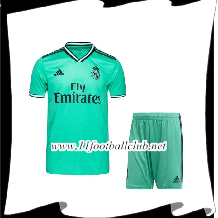 Le Nouveau Ensemble Maillot de Foot Real Madrid Third 2019/2020 Officiel