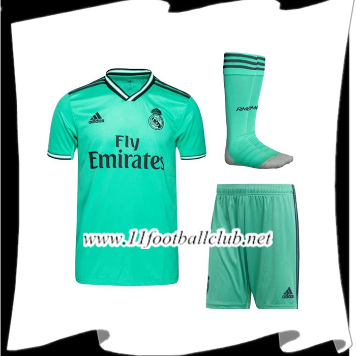 Le Nouveaux Ensemble Maillot Real Madrid Third + Chaussettes 2019/2020 Authentic