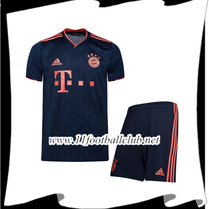 Le Nouveau Ensemble Maillot Bayern Munich Third 2019/2020 Officiel