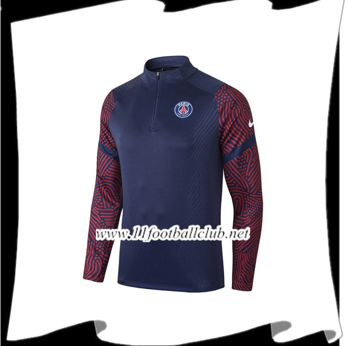 Le Nouveau Sweatshirt Training Pairis PSG Bleu Royal 2020/2021