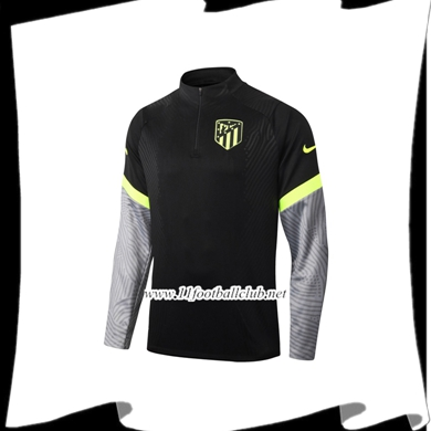 Le Nouveau Sweatshirt Training Atletico Madrid Noir 2020/2021