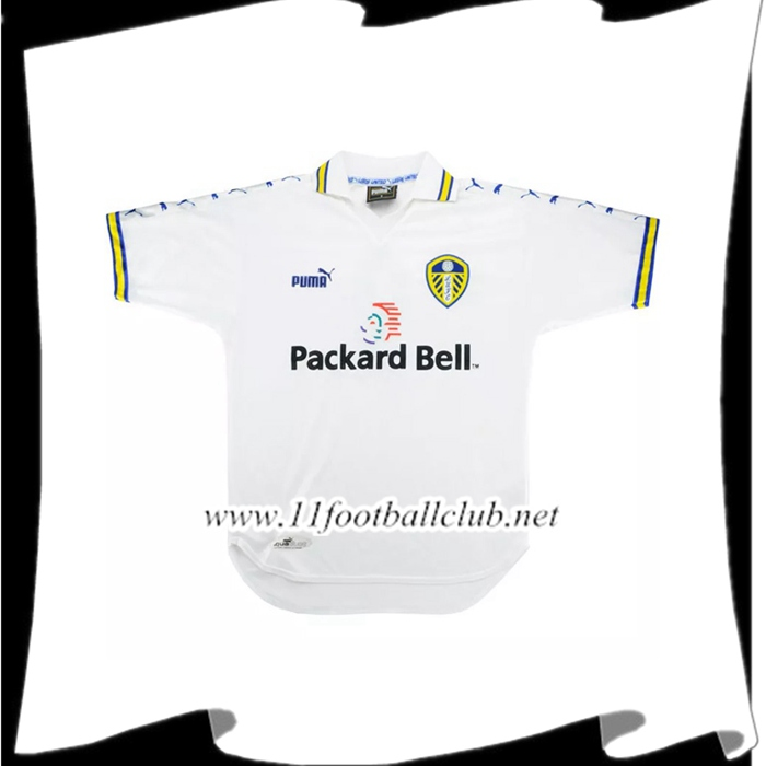 Maillot De Foot Leeds United Retro Domicile 1999/2000 Officiel