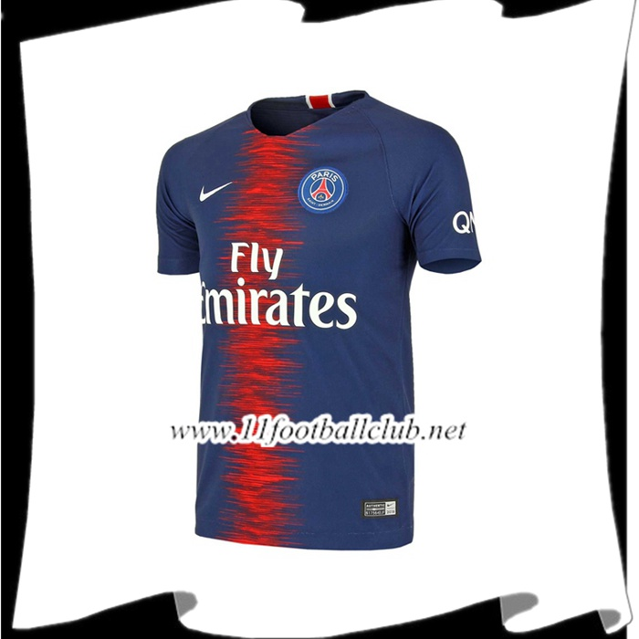 Maillot De Foot PSG Retro Domicile 2018/2019 Authentic