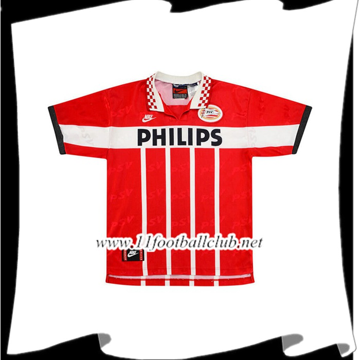 Maillot De Foot PSV Eindhoven Retro Domicile 1995/1996 Officiel
