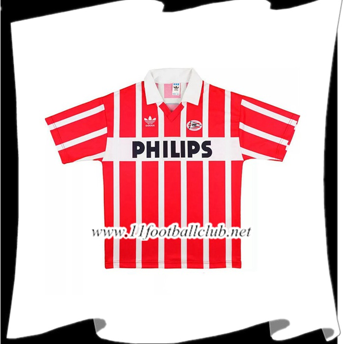 Maillot De Foot PSV Eindhoven Retro Domicile 1990/1992 Authentic