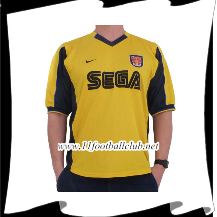 Maillot De Foot Arsenal Retro Exterieur 1999/2001 Flocage