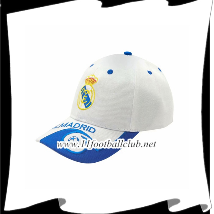 Le Nouveau Casquette de Foot Real Madrid Blanc Officiel