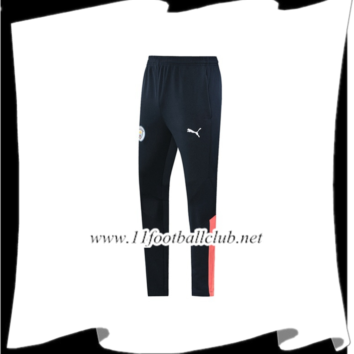 Le Nouveaux Training Pantalon Foot Manchester City Noir Rose 2019/2020 Authentic
