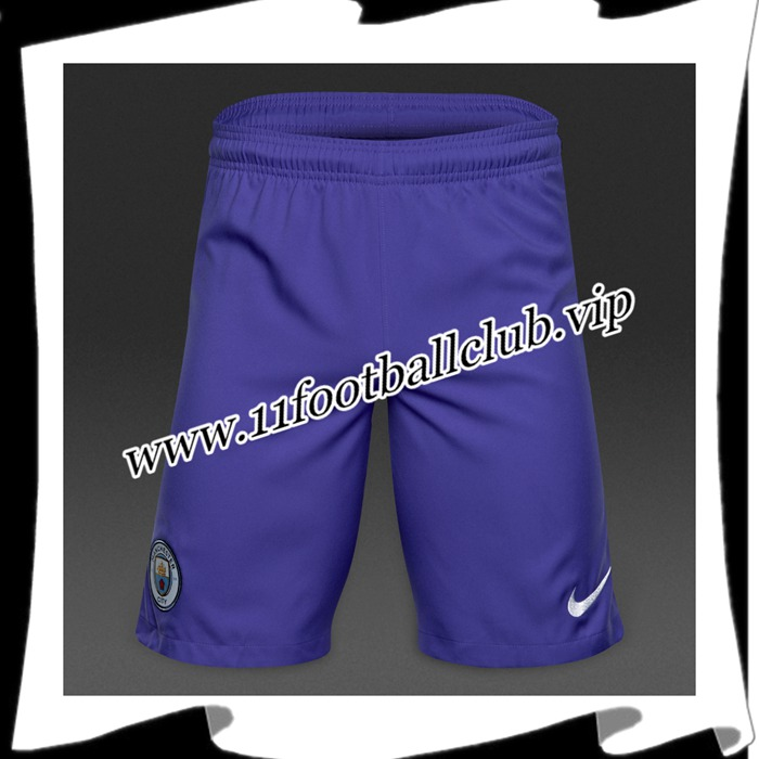 Le Nouveaux Short De Foot Manchester City Violet 2016 2017 Third Junior