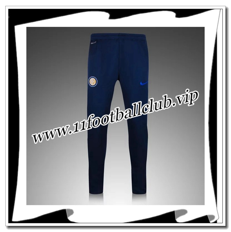 Le Nouveau Pantalon Survetement Inter Milan Bleu Marine 2016 2017 Homme Officiel