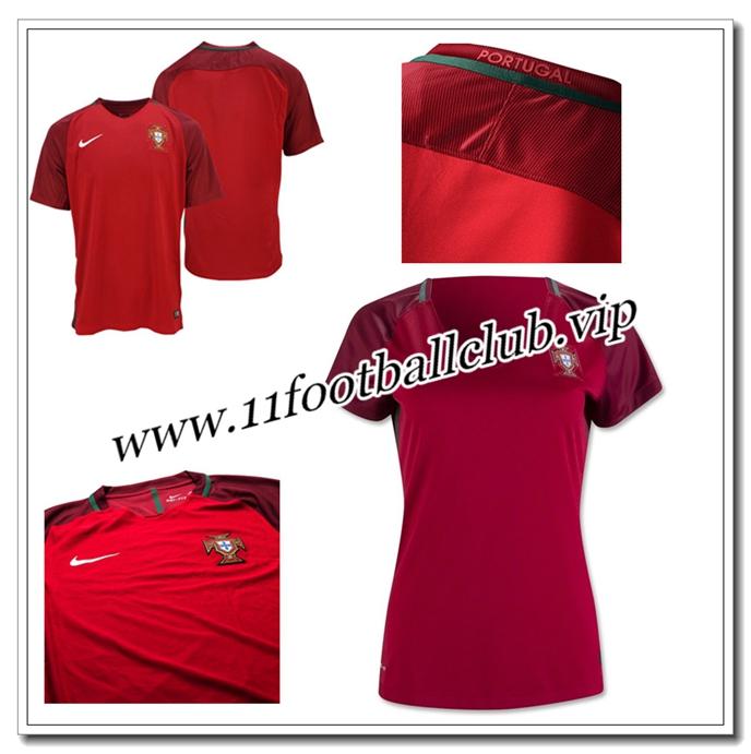 boutique maillot portugal pas cher 16 17 femme domicile officiel 11footballclub outlet. Black Bedroom Furniture Sets. Home Design Ideas