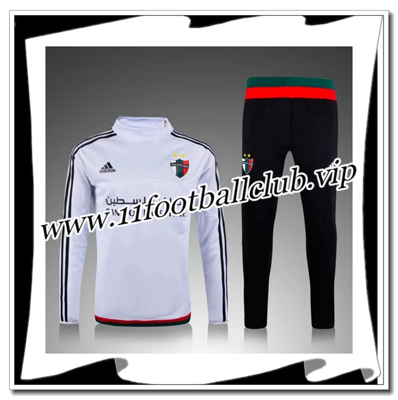 Le Nouveau Survetement de foot Palestine Blanc 2015 2016 Officiel