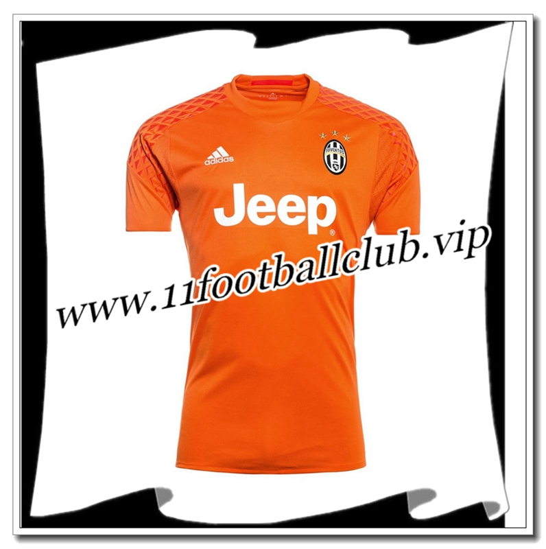 Le Nouveau Maillot Gardien Juventus Orange 2016/2017 Officiel