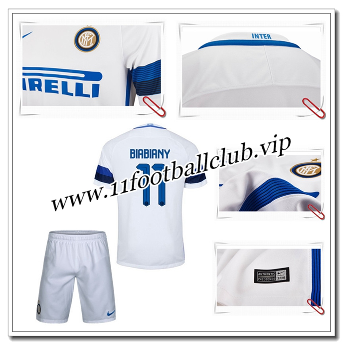 cr er son maillot biabiany 11 pas cher 16 17 enfant exterieur 11footballclub grossiste. Black Bedroom Furniture Sets. Home Design Ideas
