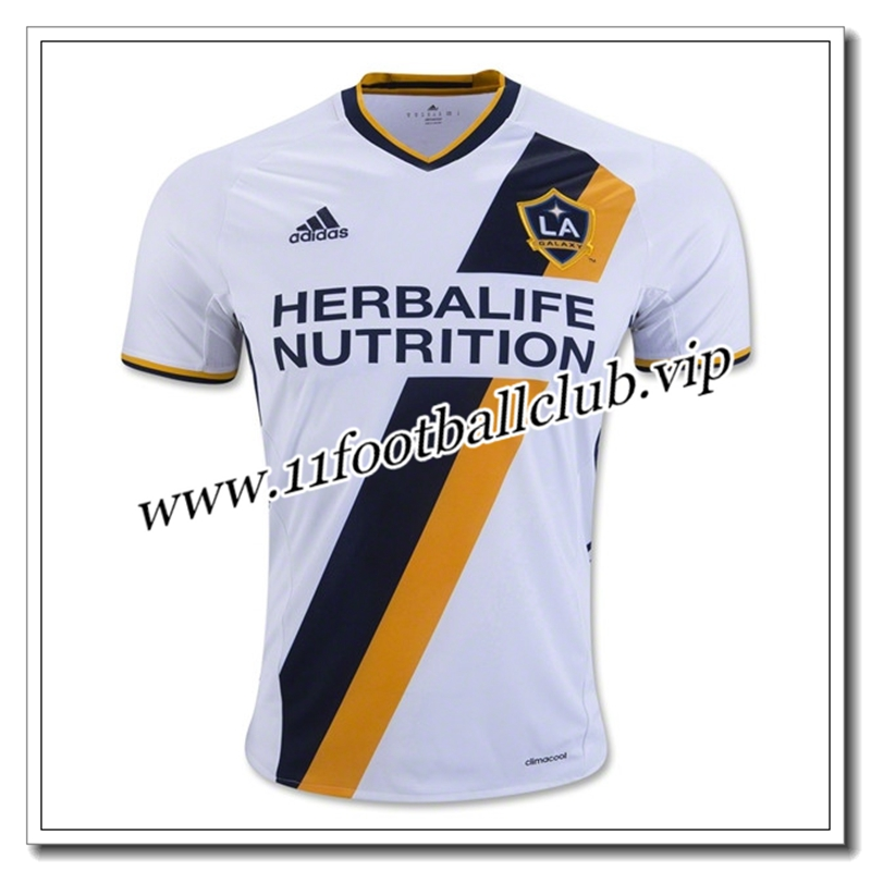 Le Nouveau Maillot de Los Angeles Galaxy Domicile Blanc 2016/17 Officiel