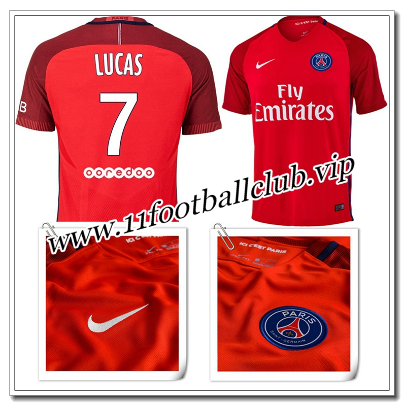 nouveau maillot psg pas cher 16 17 domicile 11footballclub outlet. Black Bedroom Furniture Sets. Home Design Ideas