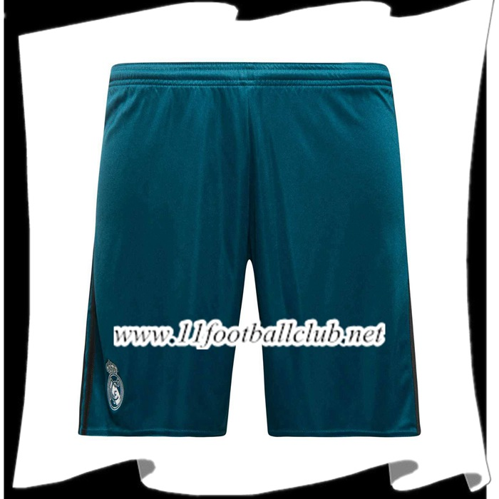 Le Nouveau Short De Foot Real Madrid Vert 2017 2018 Third Officiel