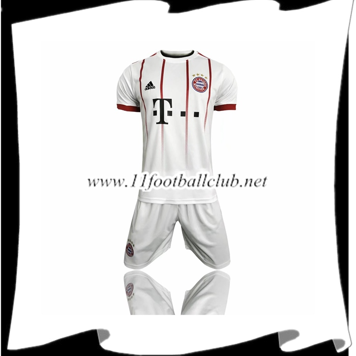Le Nouveaux Maillot Bayern Munich Third + Short 2017/2018 Junior