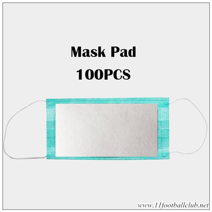 Masque Anti Pollution Jetable Tampon Filtrant Remplacement Tampon 100 Pcs Officiel