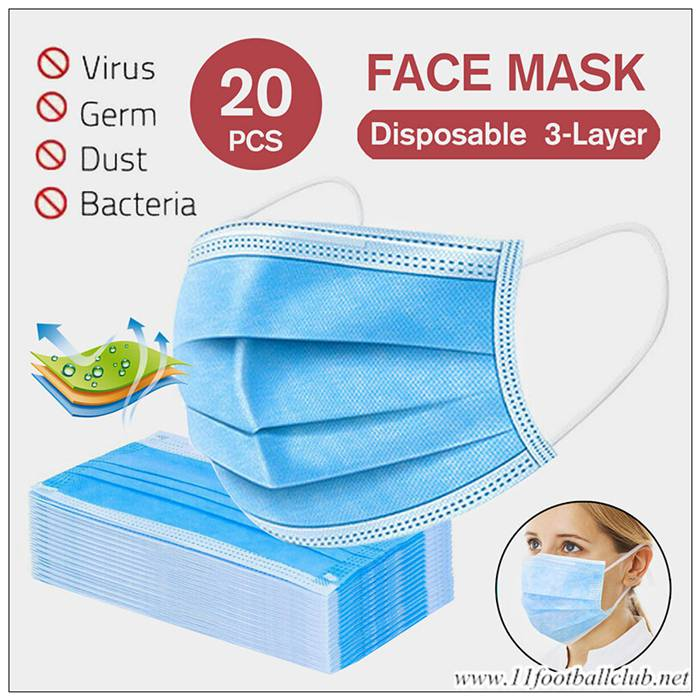 Masque Anti Poussière Jetable Cryptographie 20pcs Authentic