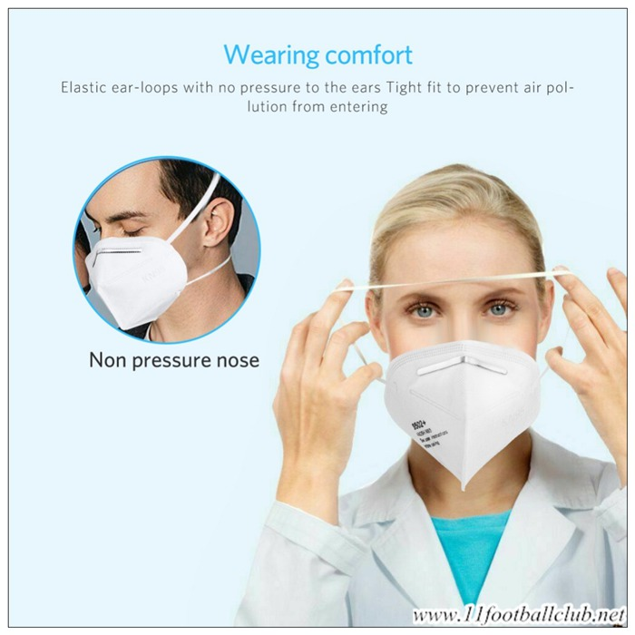 N95 Masque De Protection Respiratoire Ffp3 Grippe Officiel