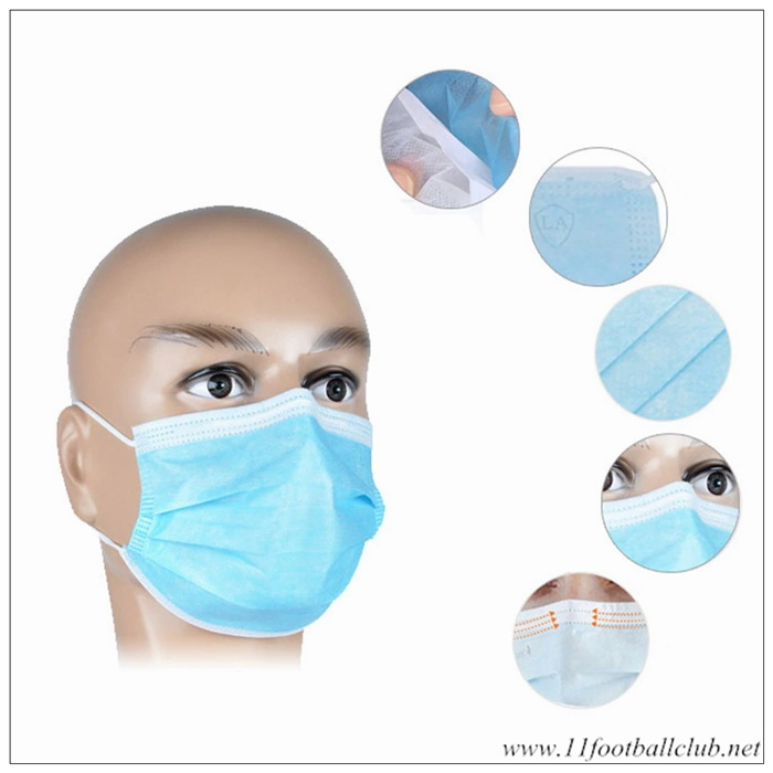 30pcs Masque Anti Pollution Jetable Cryptographie Hygienique Authentic