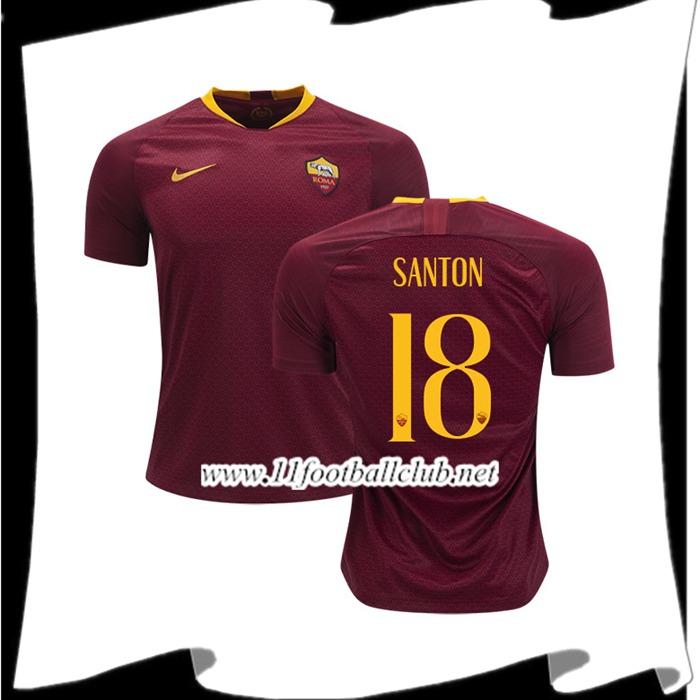 Maillot Domicile ROMA DAVIDE SANTON
