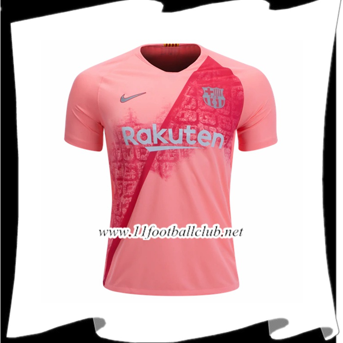 Boutique De Maillot De Foot Du Barcelone Third Rose 2018 2019 Authentic