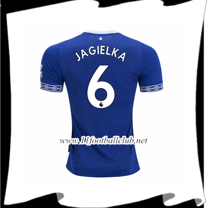 Boutique De Le Maillot De Everton Phil Jagielka 6 Domicile Bleu 2018 2019 Authentic