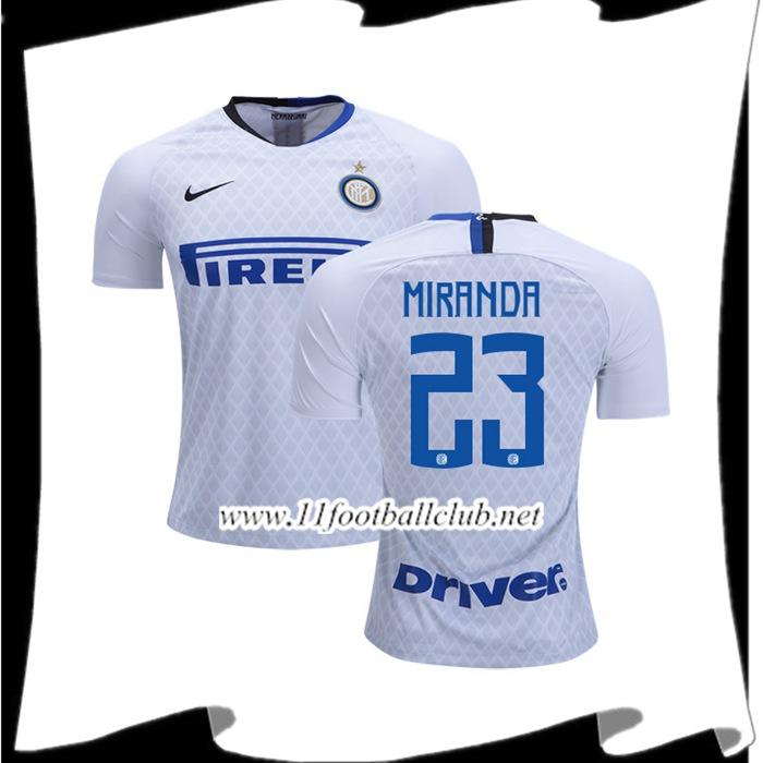 82ea14c612d Site Pour Maillot Inter Milan Miranda 23 Exterieur Pas Cher 2018 19 ...