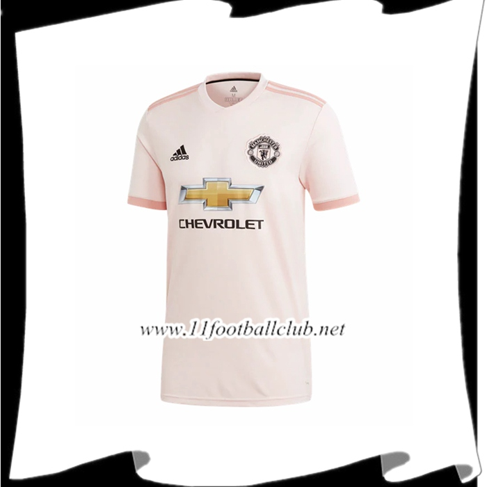 Site Pour Maillot De Foot Du Manchester United Exterieur Rose 2018 2019 Officiel