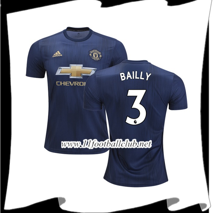 Maillot Domicile Manchester United Eric Bailly