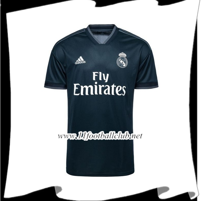 Boutique De Maillot de Foot Real Madrid Exterieur 2018/2019 Pas Cher Officiel