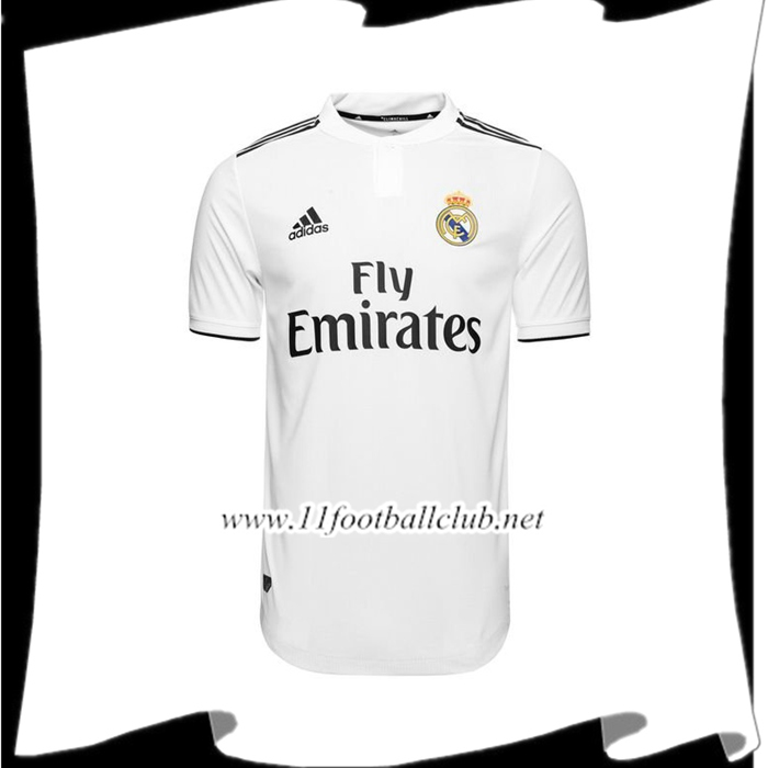 Magasin De Maillot de Foot Real Madrid Domicile 2018/2019 Pas Cher Outlet